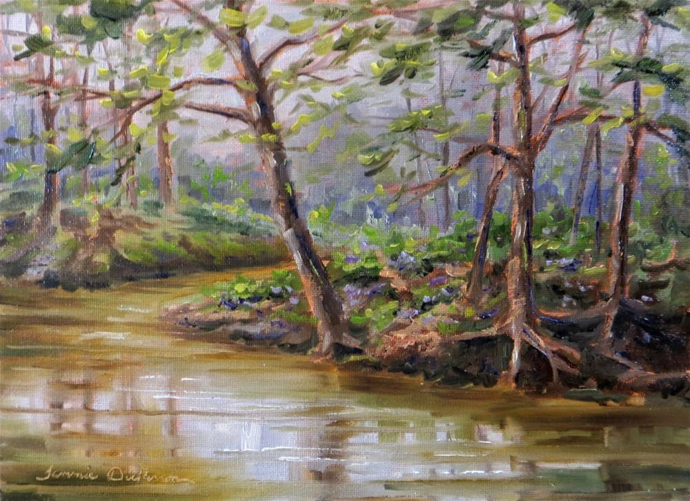 """Rush Creek Rhapsody"" original fine art by Tammie Dickerson"