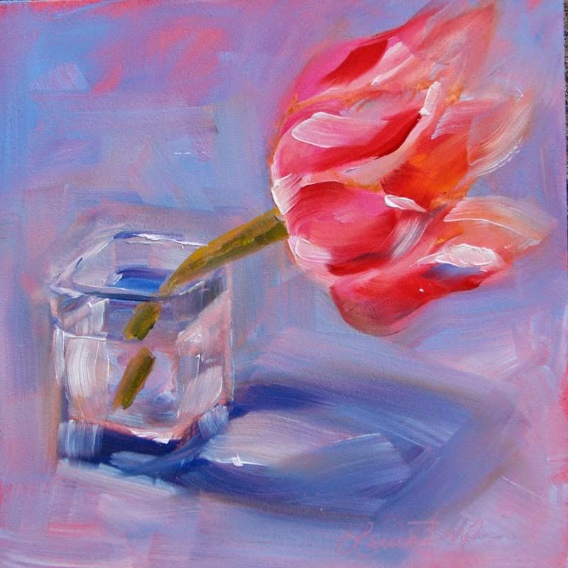 """""""Blown Away 157"""" original fine art by Laura  Buxo"""