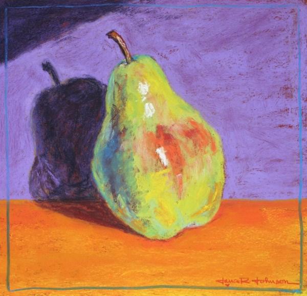 """Pearformance"" original fine art by Jana Johnson"