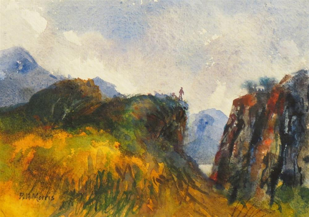 """Viewpoint"" original fine art by Dann Morris"