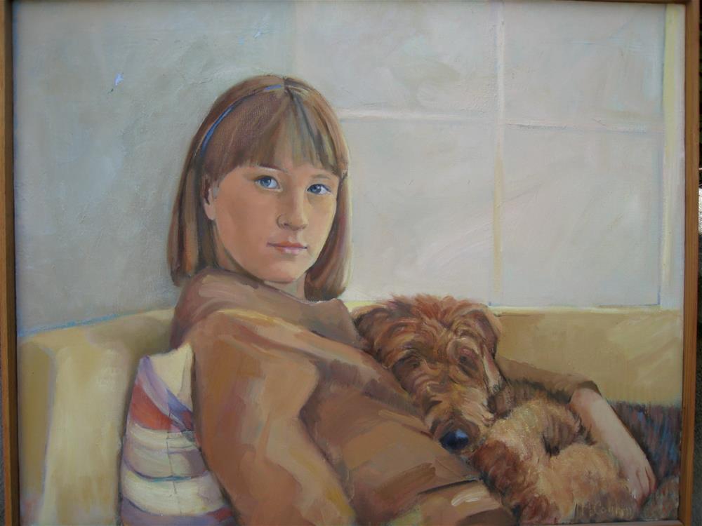 """Erin"" original fine art by meribeth coyne"