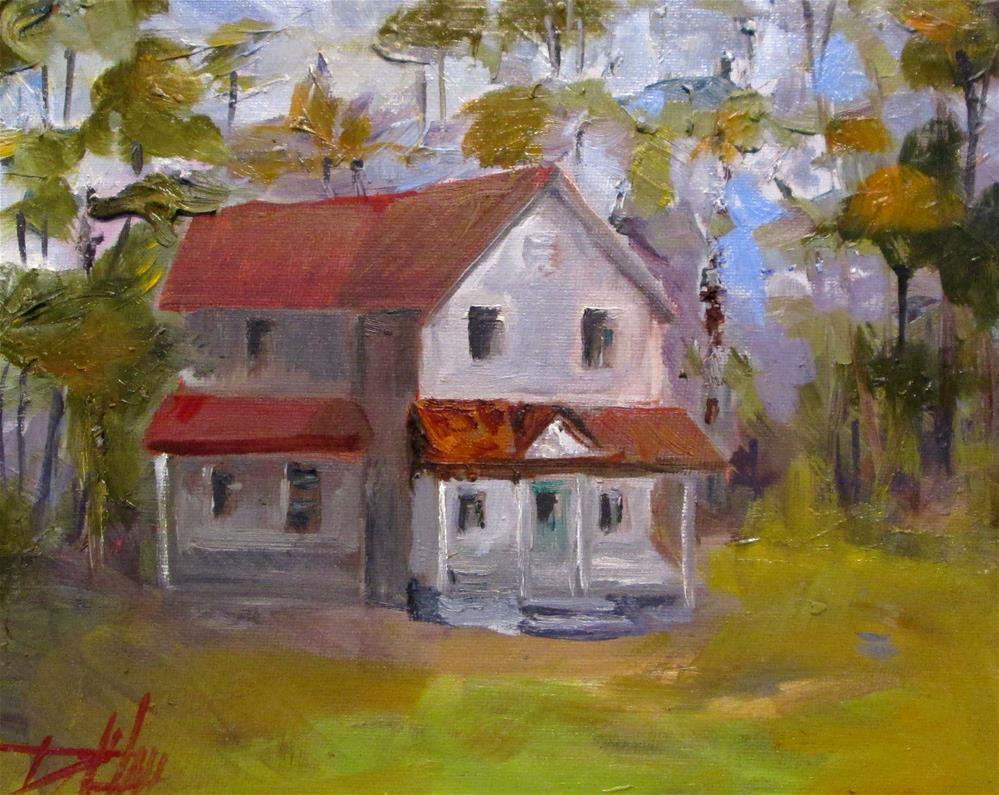 """Farm House No. 2"" original fine art by Delilah Smith"