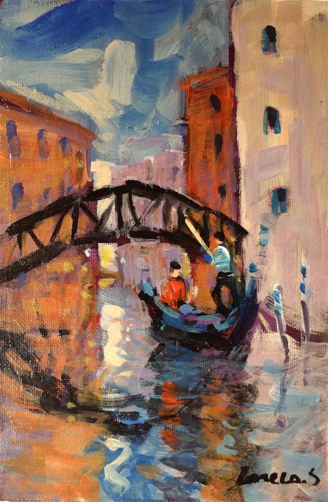 """""""Venise #2"""" original fine art by salvatore greco"""
