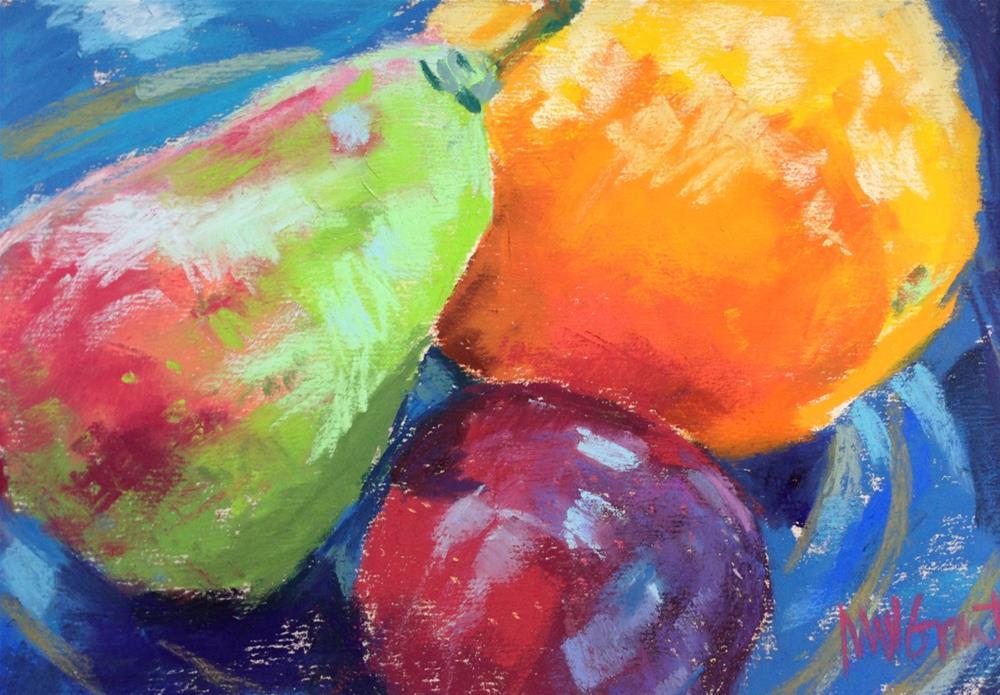 """Fruit Salad"" original fine art by Michelle Wells Grant"
