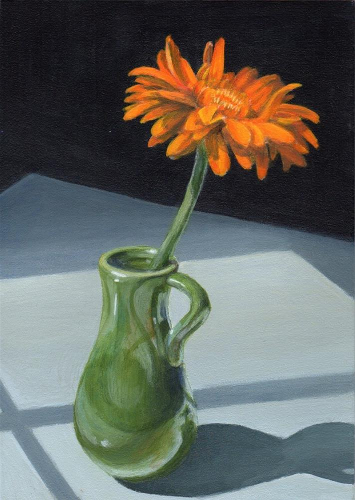 """Soliloquy"" original fine art by Debbie Shirley"