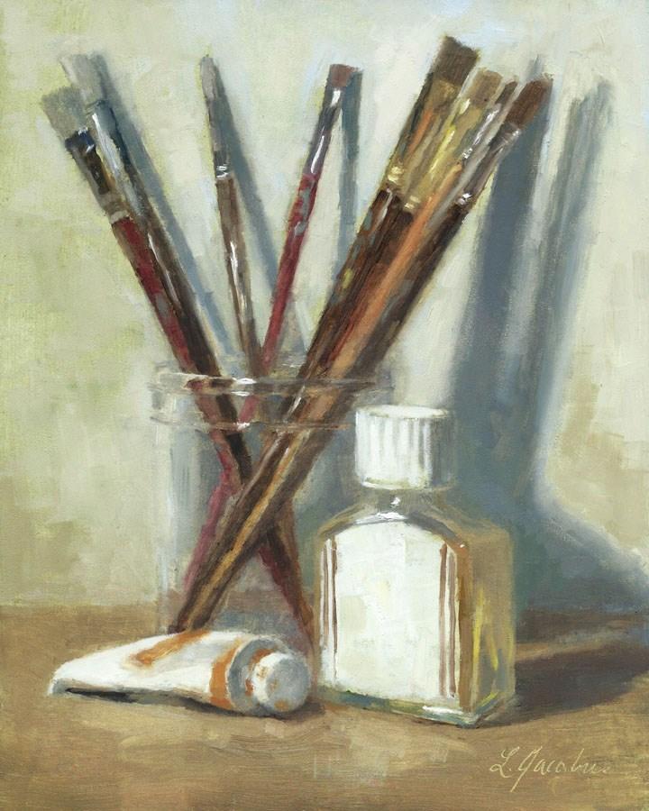 """Tools to Create"" original fine art by Linda Jacobus"