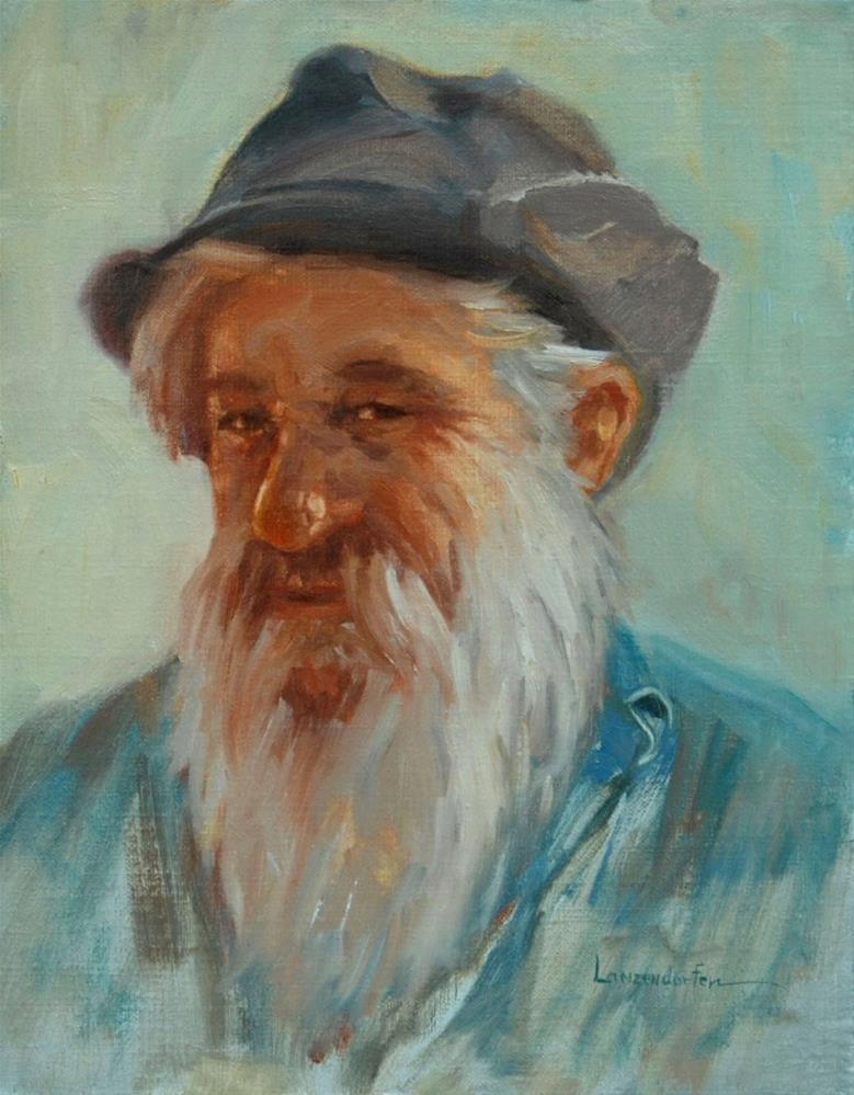 """""""MURPHYS MAN"""" original fine art by Dj Lanzendorfer"""
