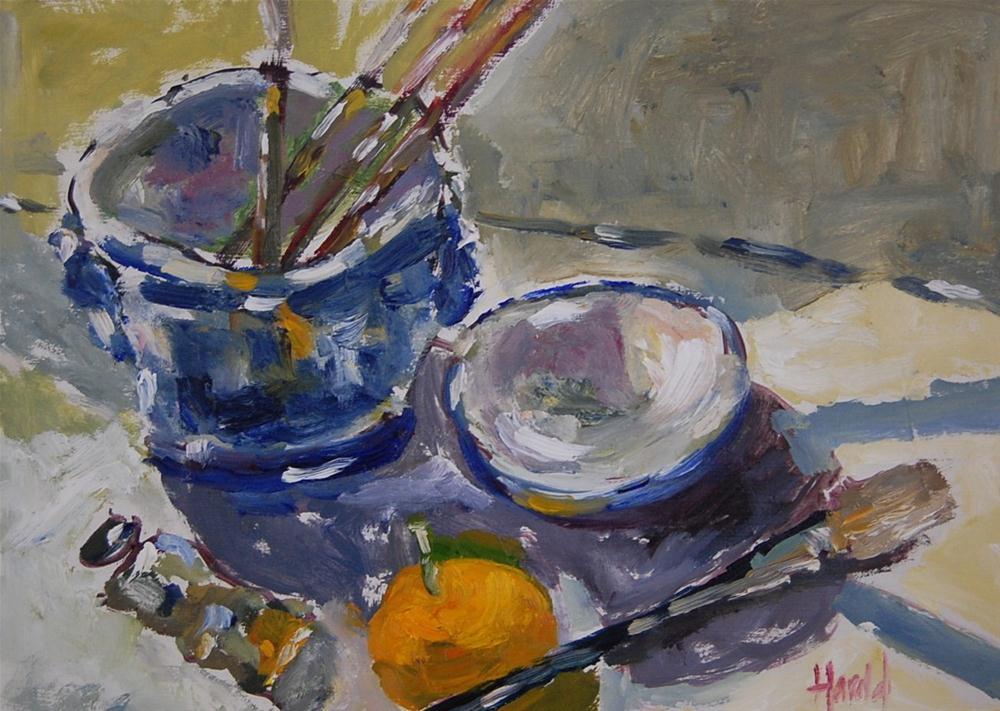 """Loose Study"" original fine art by Deborah Harold"