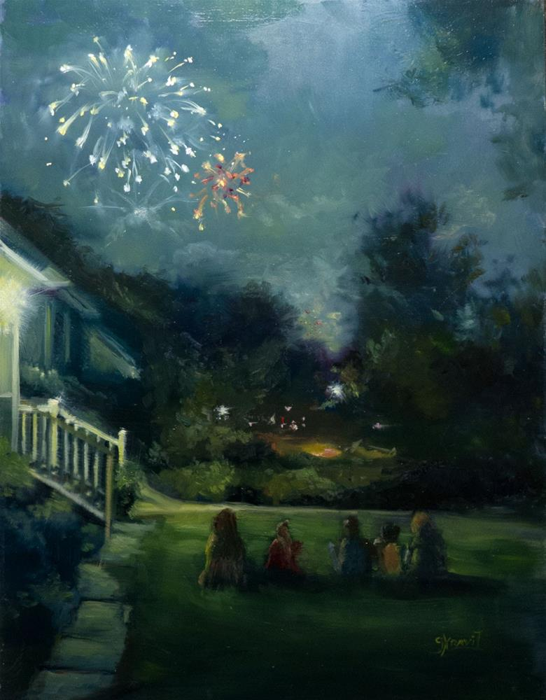 """Hope"" original fine art by Garry Kravit"