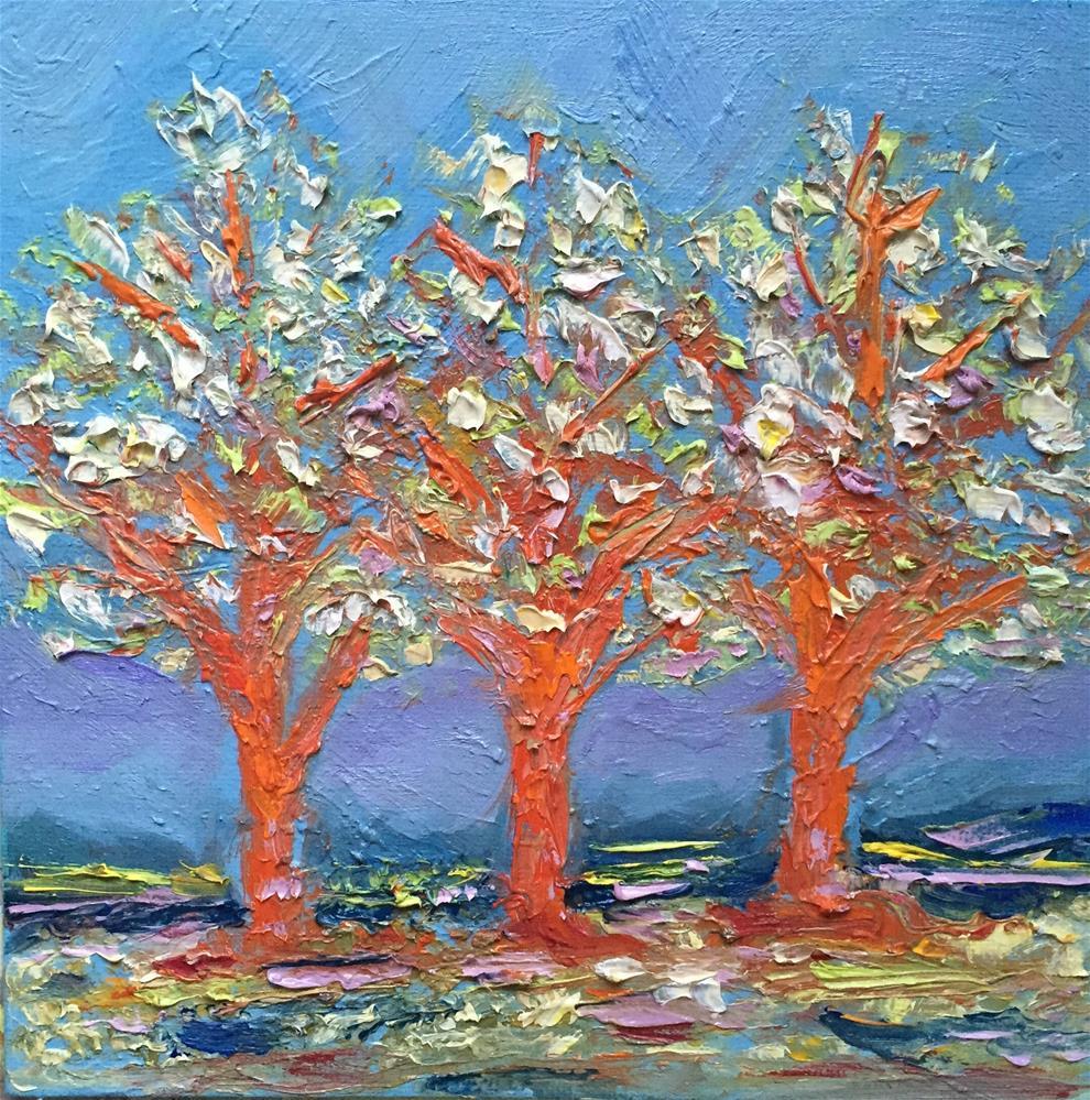 """Bloom"" original fine art by Cheree Apalona Lueck"