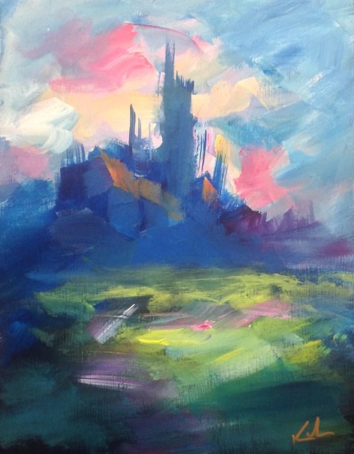 """""""Still Soundly Dreaming"""" original fine art by David Kuhn"""