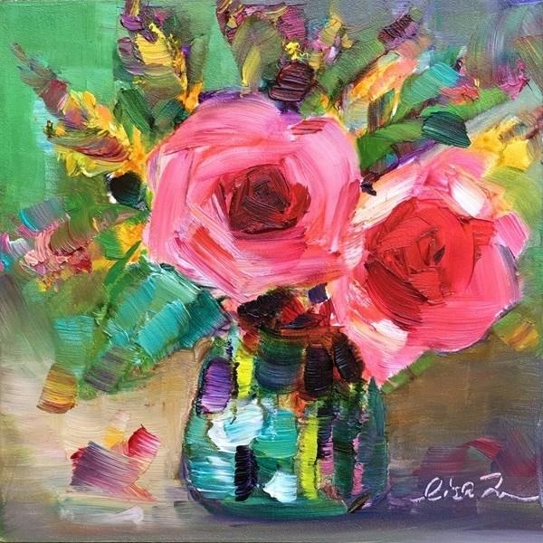 """Forever"" original fine art by Lisa Fu"