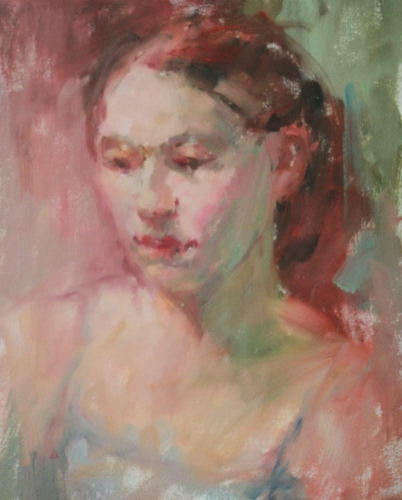 """Liz - NFS"" original fine art by Kathryn Townsend"