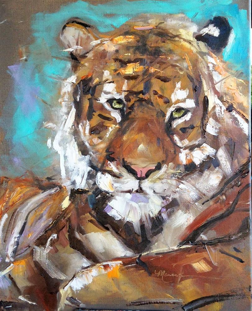"""The Champion"" original fine art by Marcia Hodges"