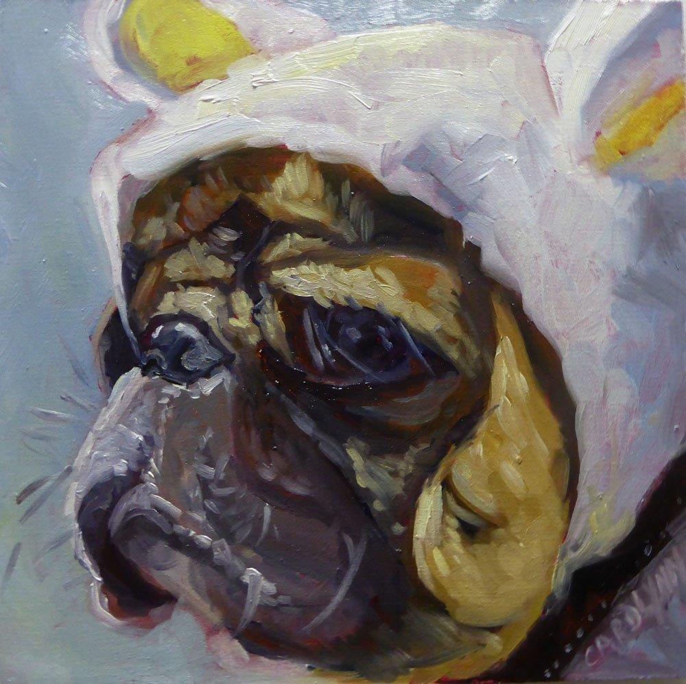 """""""Ready For The Elements"""" original fine art by Carolynn Doan"""