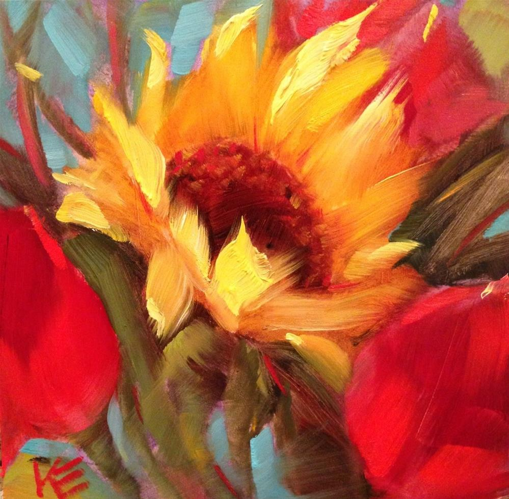"""""""Sunny Delight"""" original fine art by Krista Eaton"""
