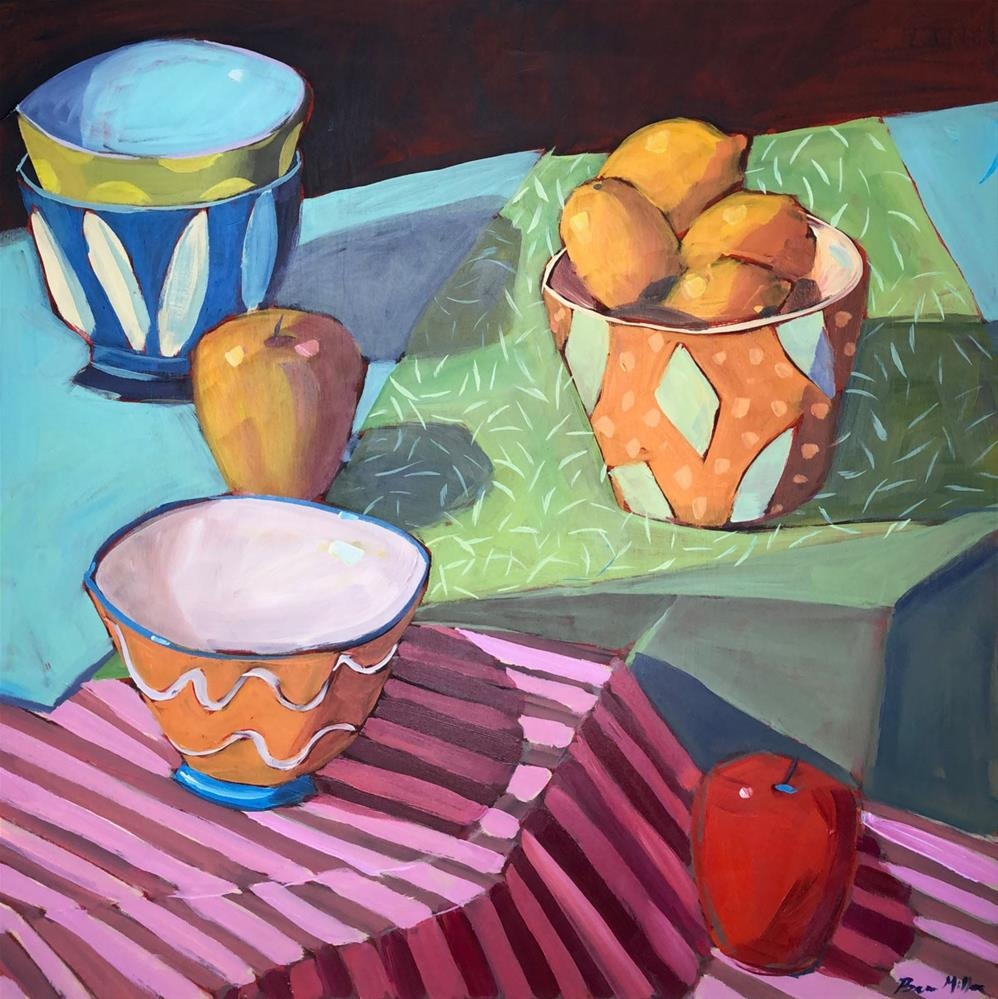 """1188: Setting the Table"" original fine art by Brian Miller"
