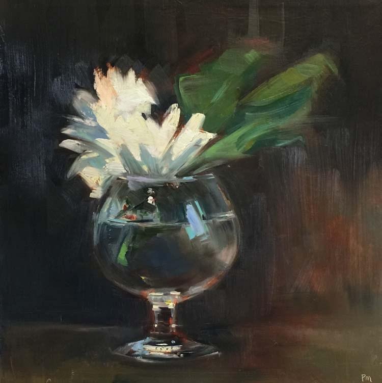 """Potluck Posies"" original fine art by Patti McNutt"