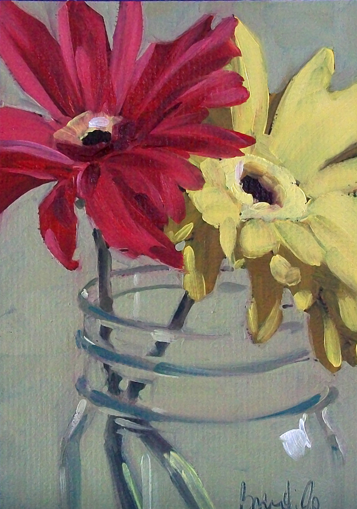 """flower study"" original fine art by Brandi Bowman"