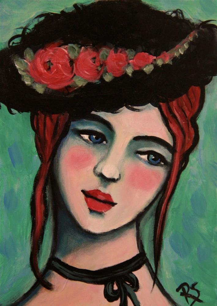 """Leandra"" original fine art by Roberta Schmidt"