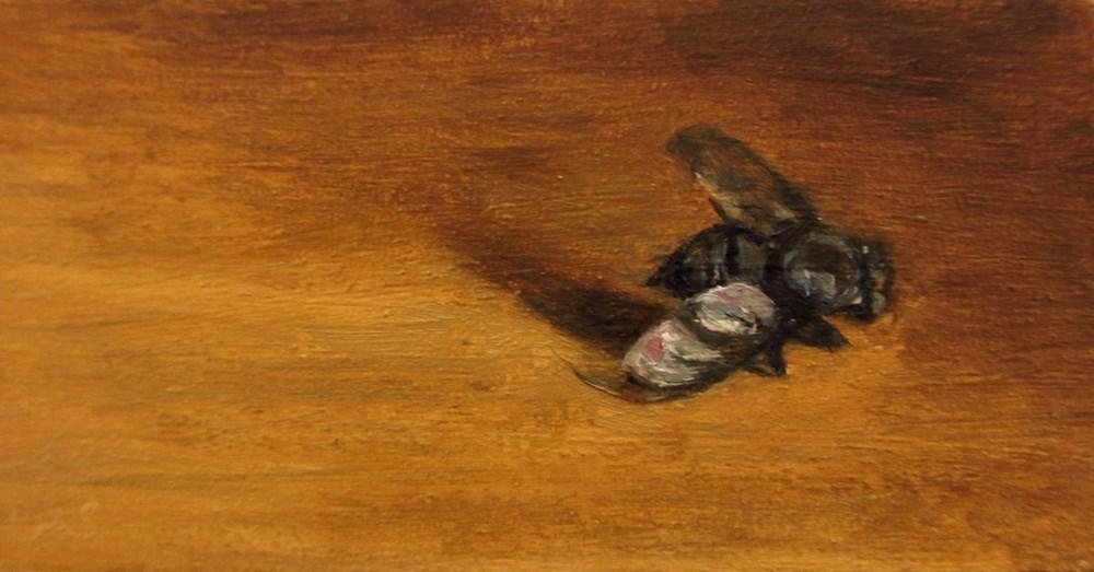 """""""Dead Fly"""" original fine art by Ulrike Miesen-Schuermann"""
