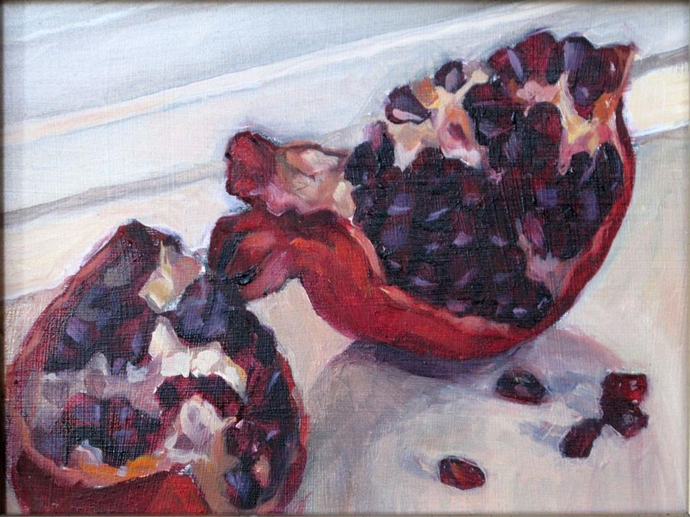"""Persephone's feast 2"" original fine art by Myriam Kin-Yee"