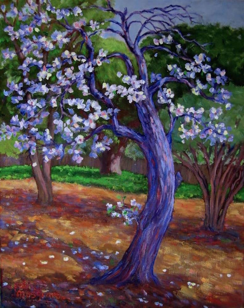 """""""The Advent of Spring"""" original fine art by Patricia Musgrave"""