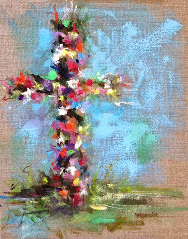 """Easter Morning"" original fine art by Marcia Hodges"
