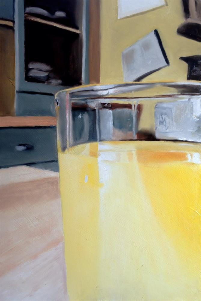 """""""Orange Juice"""" original fine art by James Coates"""