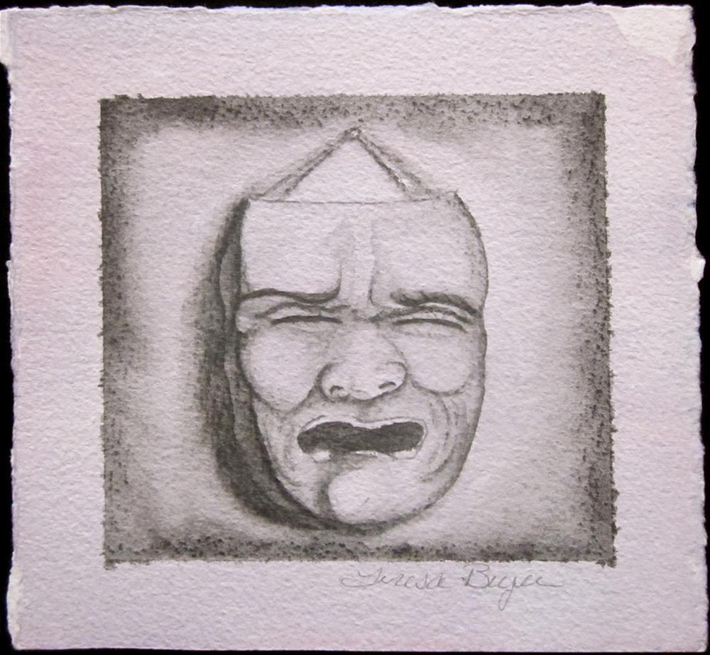 """""""Fear"""" original fine art by Teresa Beyer"""