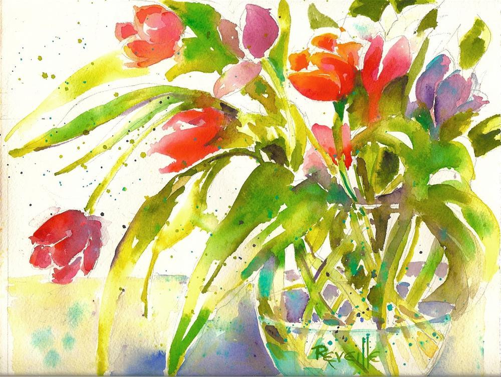 """""""Memories #1"""" original fine art by Reveille Kennedy"""