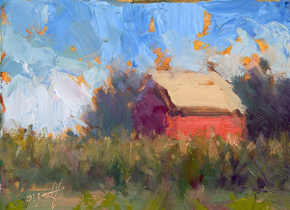 """Cobalt & Crimson (Hartland Soul II)"" original fine art by Todd Zuithof"
