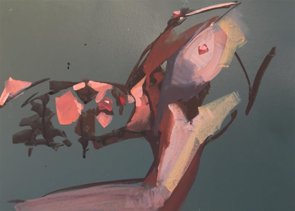 """""""No.49"""" original fine art by Kendall Portis"""