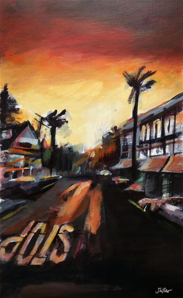 """""""3025 Californian Street"""" original fine art by Dietmar Stiller"""