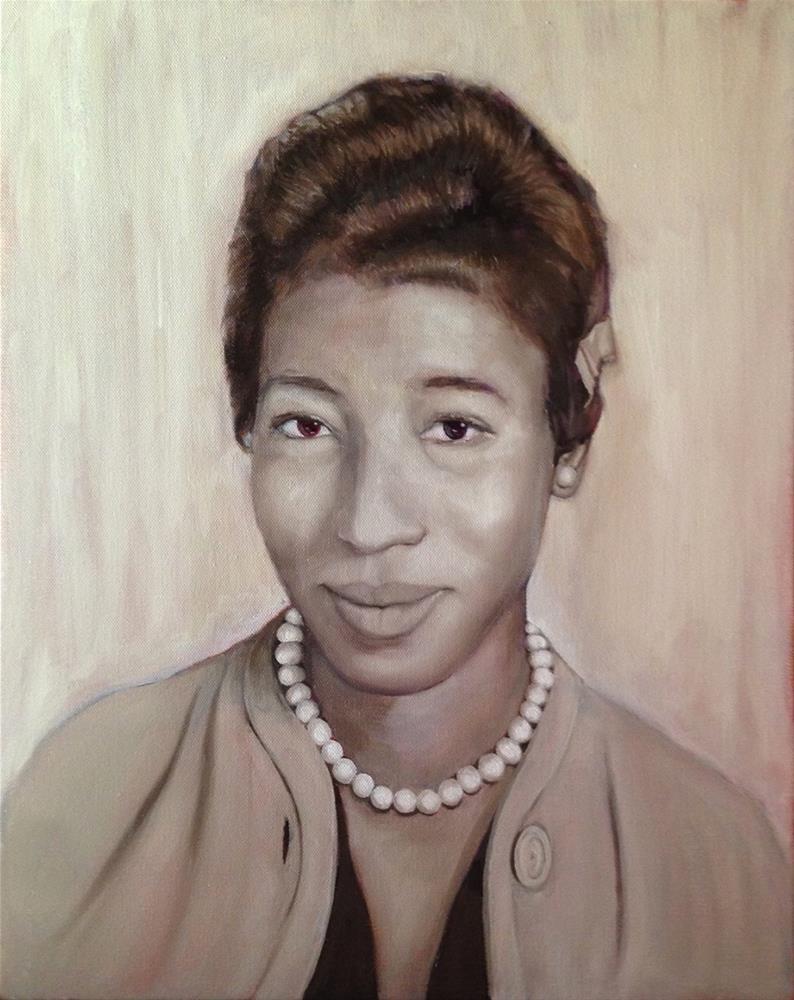 """Betty Mae"" original fine art by Margaret Mayer"