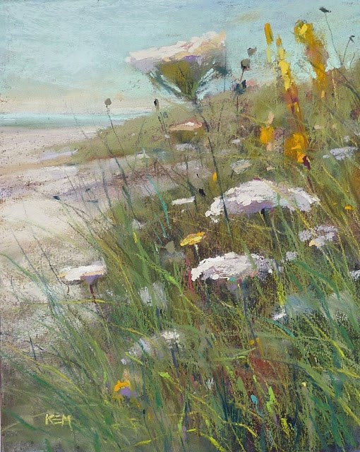 """My Favorite Paintings of 2017 #1"" original fine art by Karen Margulis"
