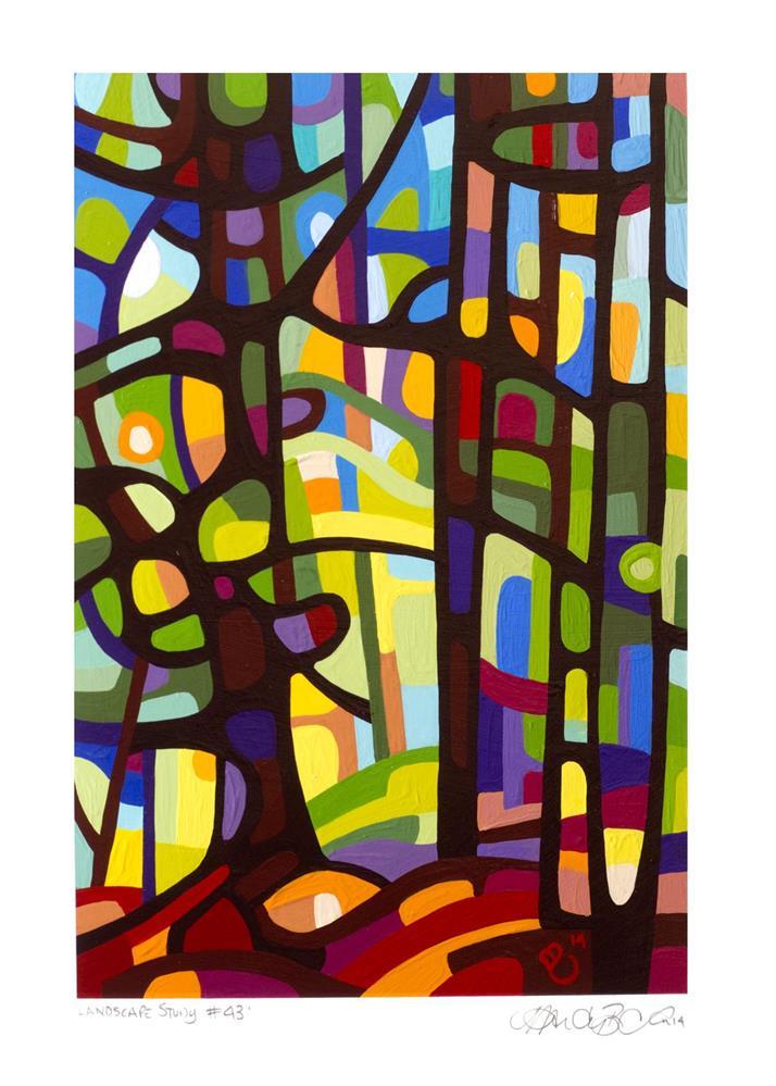 """Landscape Study #43"" original fine art by Mandy Budan"