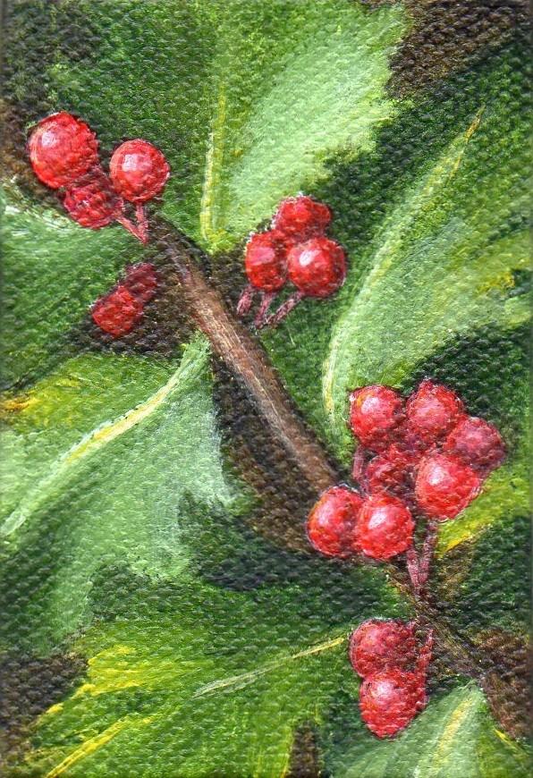 """Ornament #23"" original fine art by Debbie Shirley"