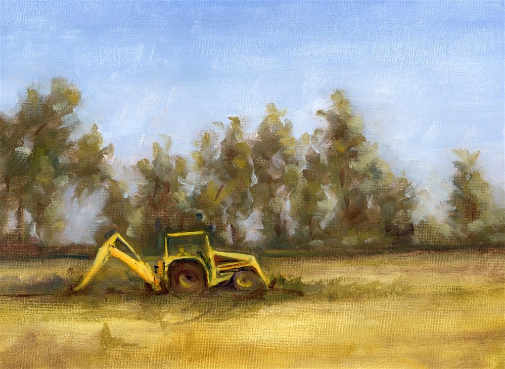 """""""Field Work Study II"""" original fine art by Susanne Billings"""