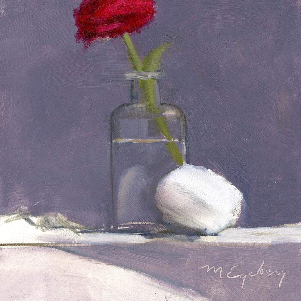 """Egg & Plant"" original fine art by Mitch Egeberg"