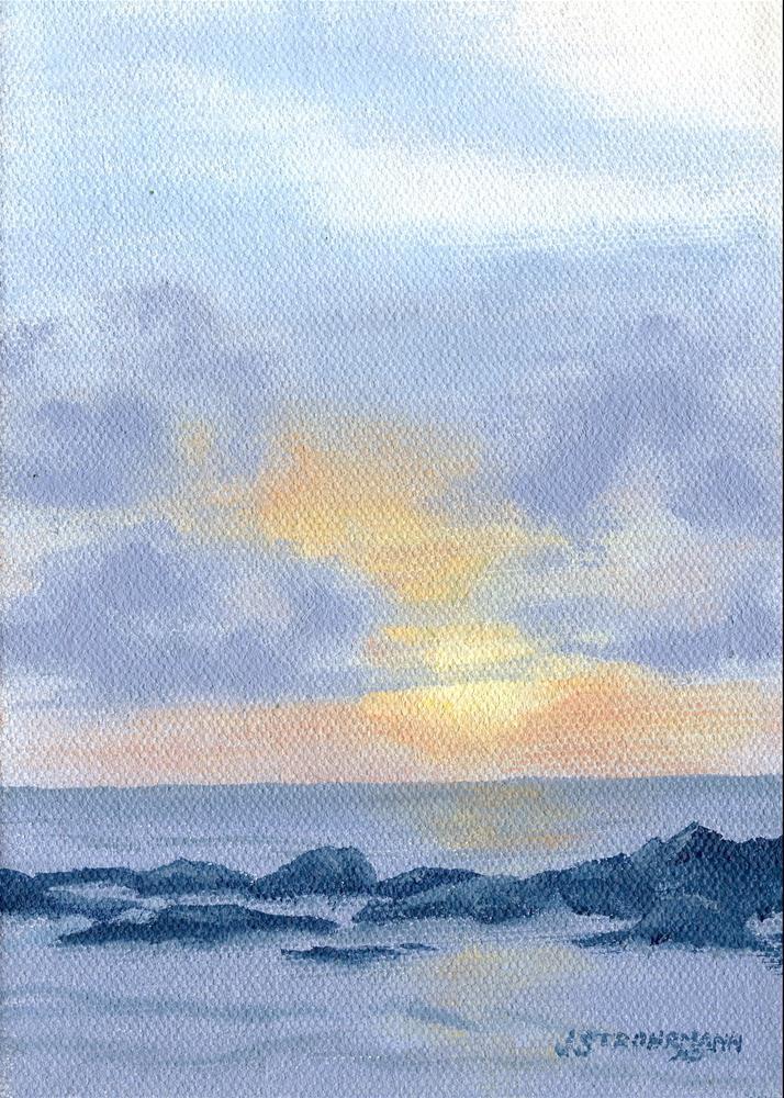 """Calm Waters"" original fine art by Jeanne Strohrmann"