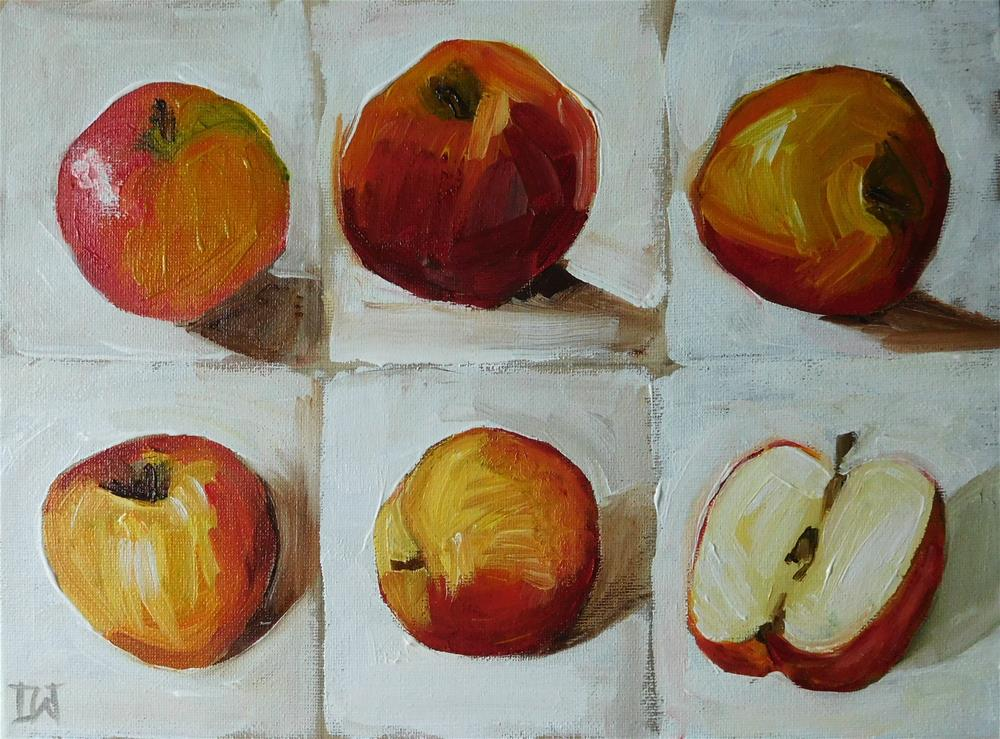 """Quick Apples"" original fine art by Daryl West"
