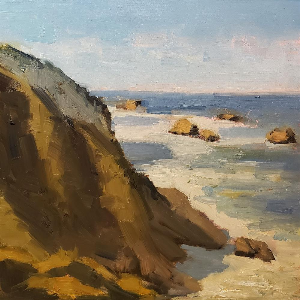 """View From Bixby Bridge "" original fine art by Barbie Smith"