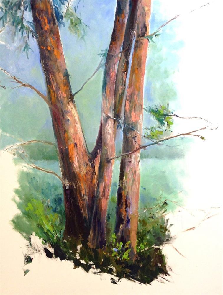 """""""Untamed"""" original fine art by Cathy Boyd"""