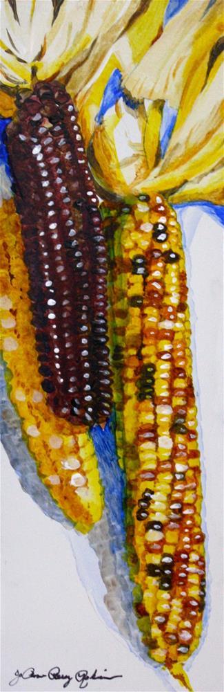 """Popcorn"" original fine art by JoAnne Perez Robinson"