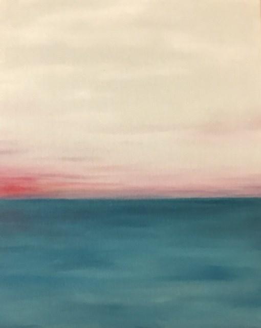 """Last Glimpse"" original fine art by Karen Collins"