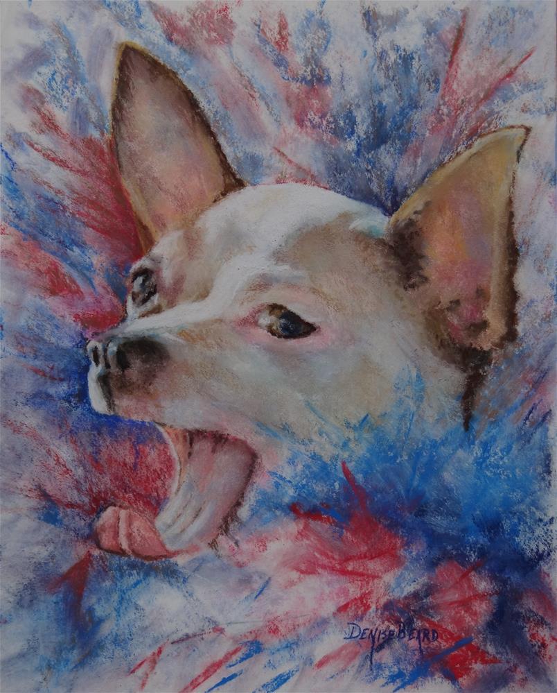 """Boa Baby!"" original fine art by Denise Beard"