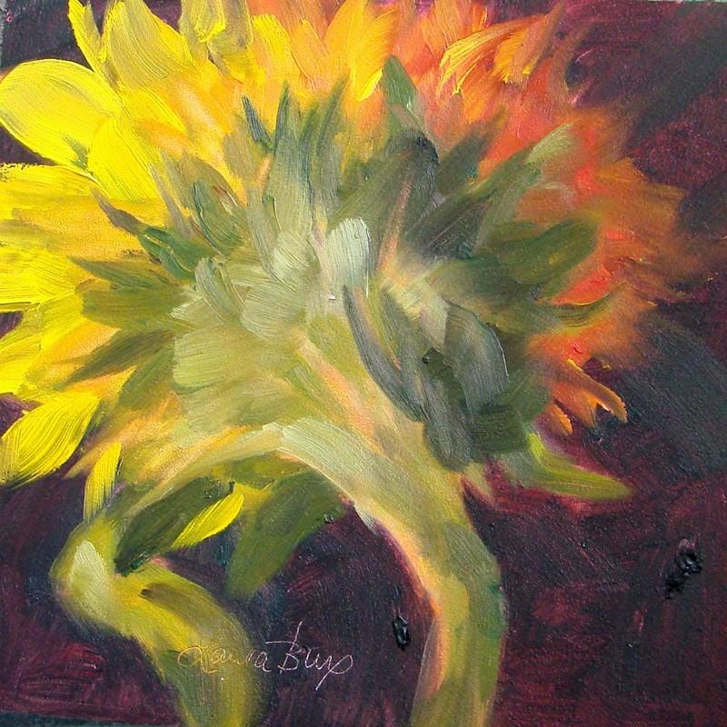 """Back Side 198"" original fine art by Laura  Buxo"