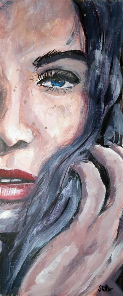 """""""3087 Smartface 03"""" original fine art by Dietmar Stiller"""