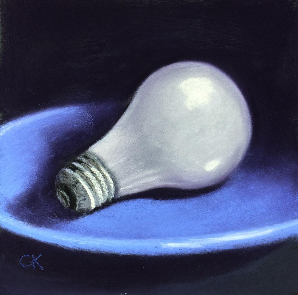 """60 Watt"" original fine art by Cristine Kossow"